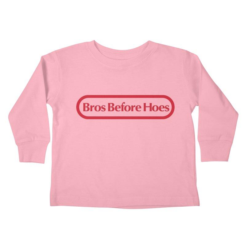 bros Kids Toddler Longsleeve T-Shirt by jerbing's Artist Shop