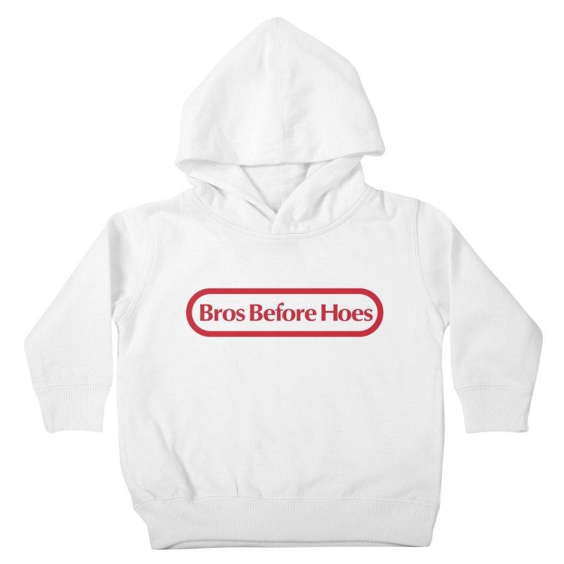 bros Kids Toddler Pullover Hoody by jerbing's Artist Shop