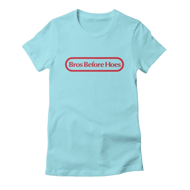bros Women's Fitted T-Shirt by jerbing's Artist Shop