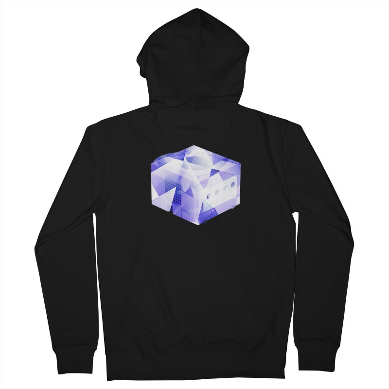 gamecubism Men's Zip-Up Hoody by jerbing's Artist Shop