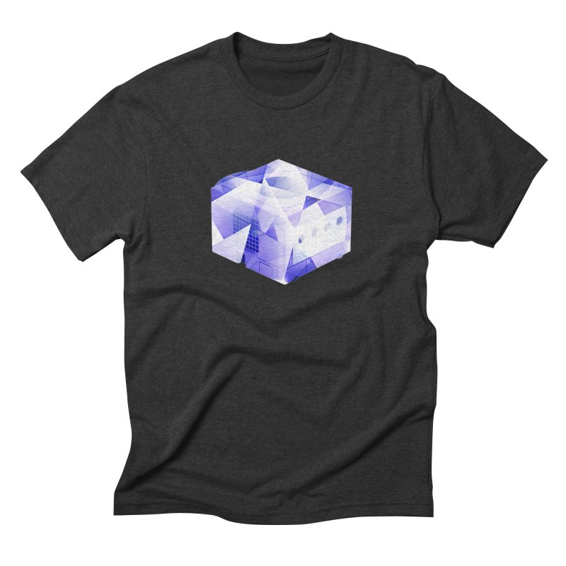gamecubism Men's Triblend T-Shirt by jerbing's Artist Shop