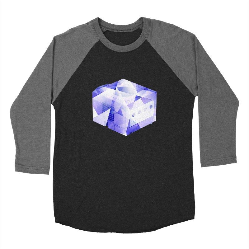 gamecubism Women's Baseball Triblend Longsleeve T-Shirt by jerbing's Artist Shop
