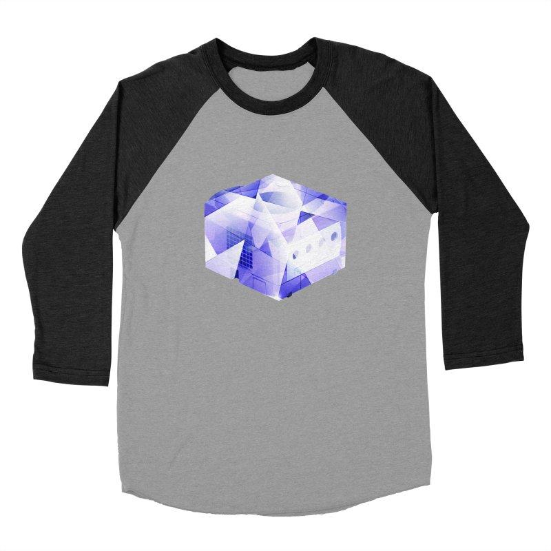 gamecubism Men's Baseball Triblend T-Shirt by jerbing's Artist Shop