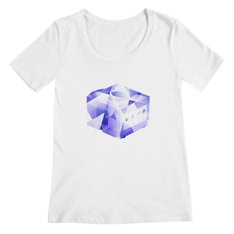 gamecubism Women's Regular Scoop Neck by jerbing's Artist Shop