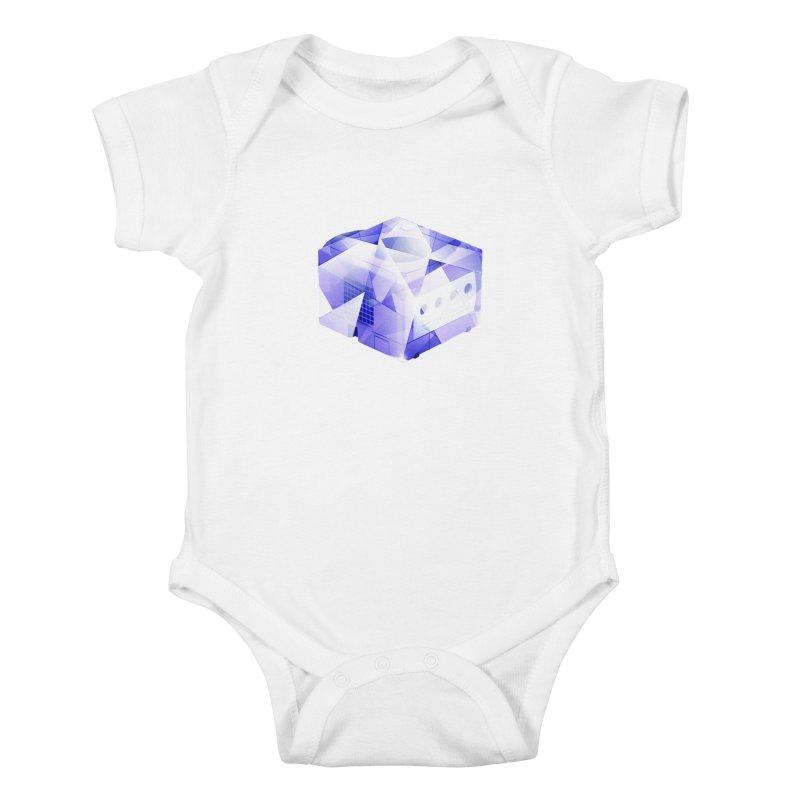 gamecubism Kids Baby Bodysuit by jerbing's Artist Shop