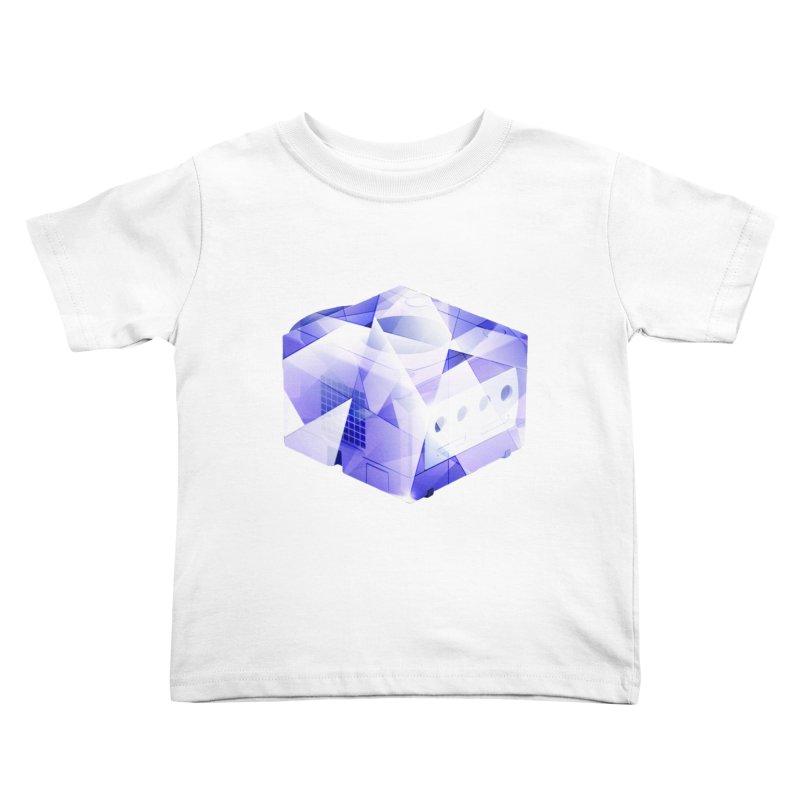 gamecubism Kids Toddler T-Shirt by jerbing's Artist Shop