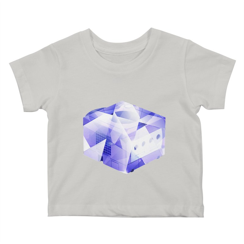 gamecubism Kids Baby T-Shirt by jerbing's Artist Shop