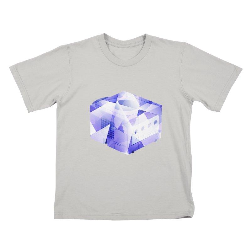 gamecubism Kids T-Shirt by jerbing's Artist Shop