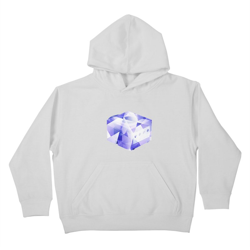 gamecubism Kids Pullover Hoody by jerbing's Artist Shop