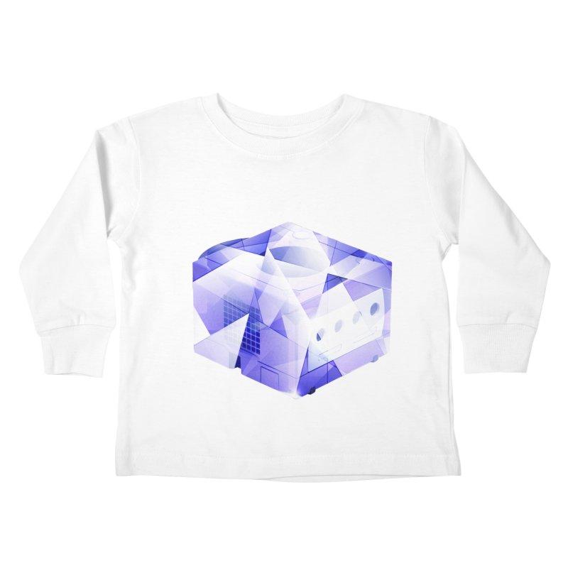 gamecubism Kids Toddler Longsleeve T-Shirt by jerbing's Artist Shop