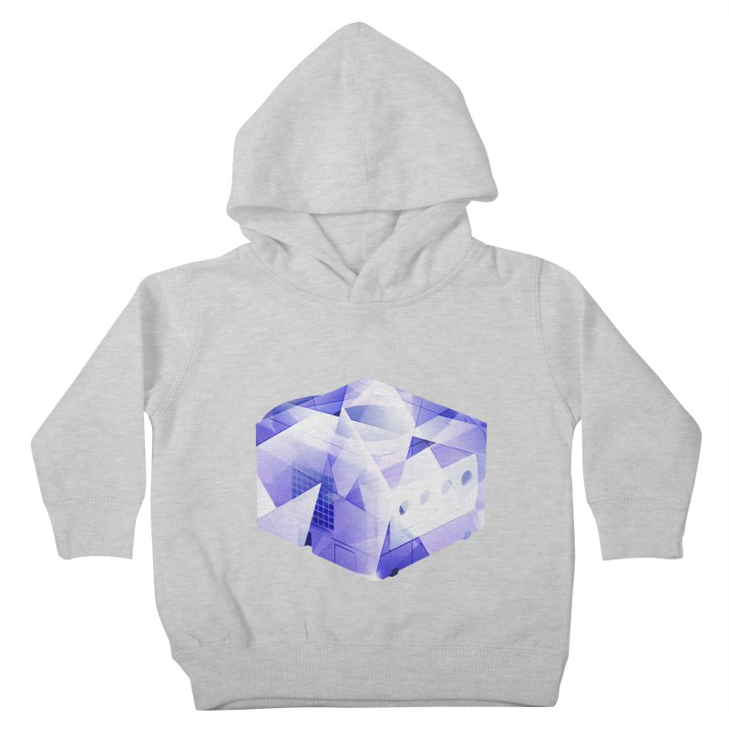 gamecubism Kids Toddler Pullover Hoody by jerbing's Artist Shop