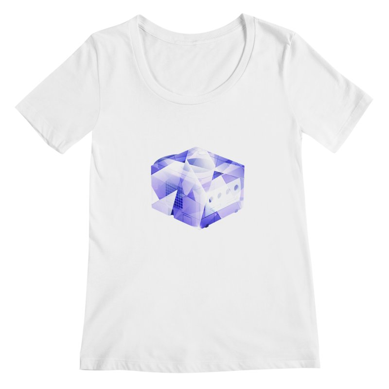 gamecubism Women's Scoopneck by jerbing's Artist Shop