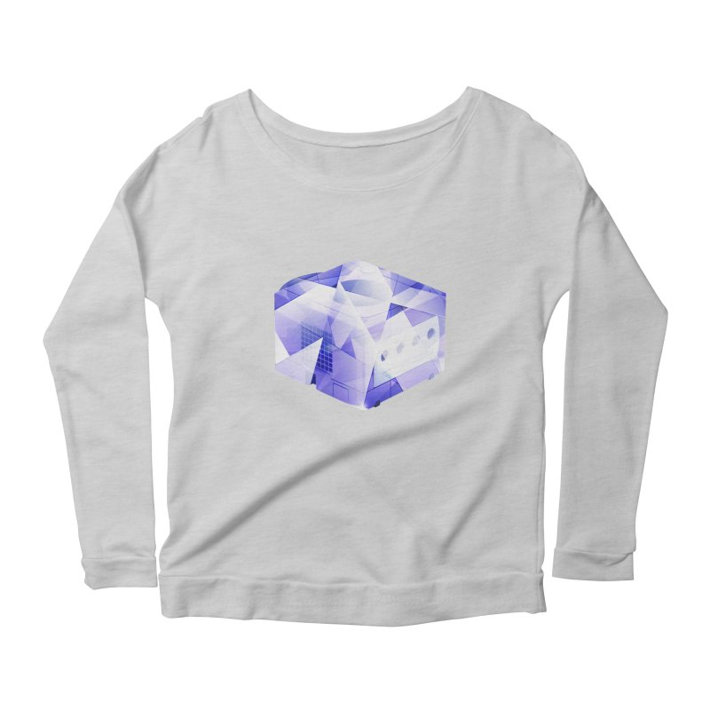 gamecubism Women's Longsleeve Scoopneck  by jerbing's Artist Shop