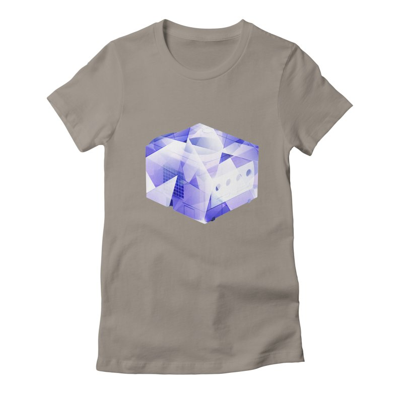 gamecubism Women's Fitted T-Shirt by jerbing's Artist Shop