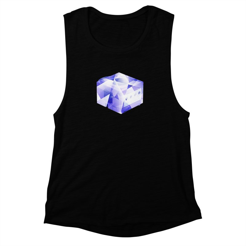 gamecubism Women's Muscle Tank by jerbing's Artist Shop