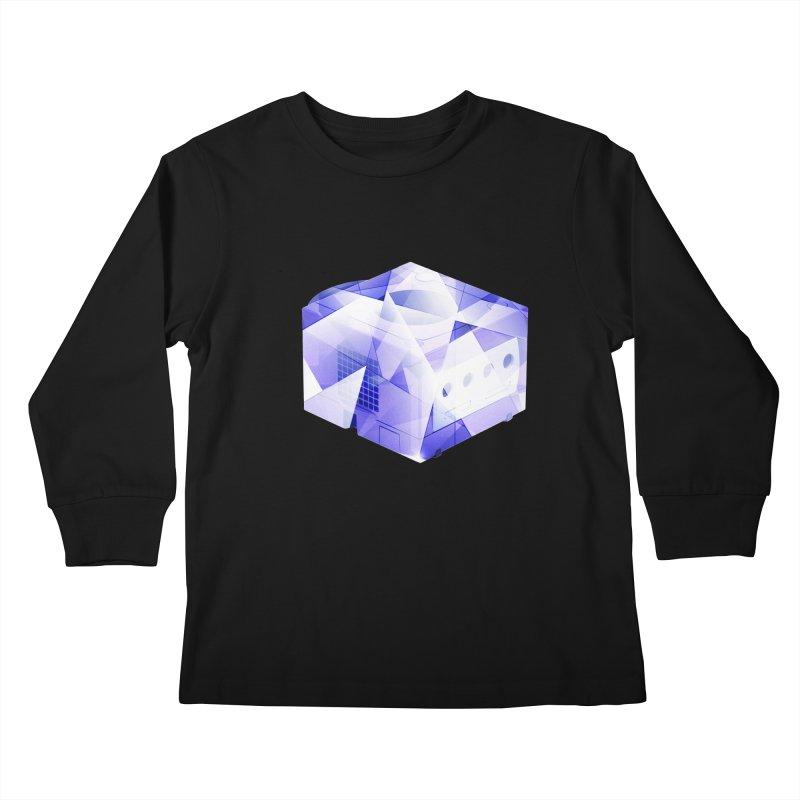 gamecubism Kids Longsleeve T-Shirt by jerbing's Artist Shop