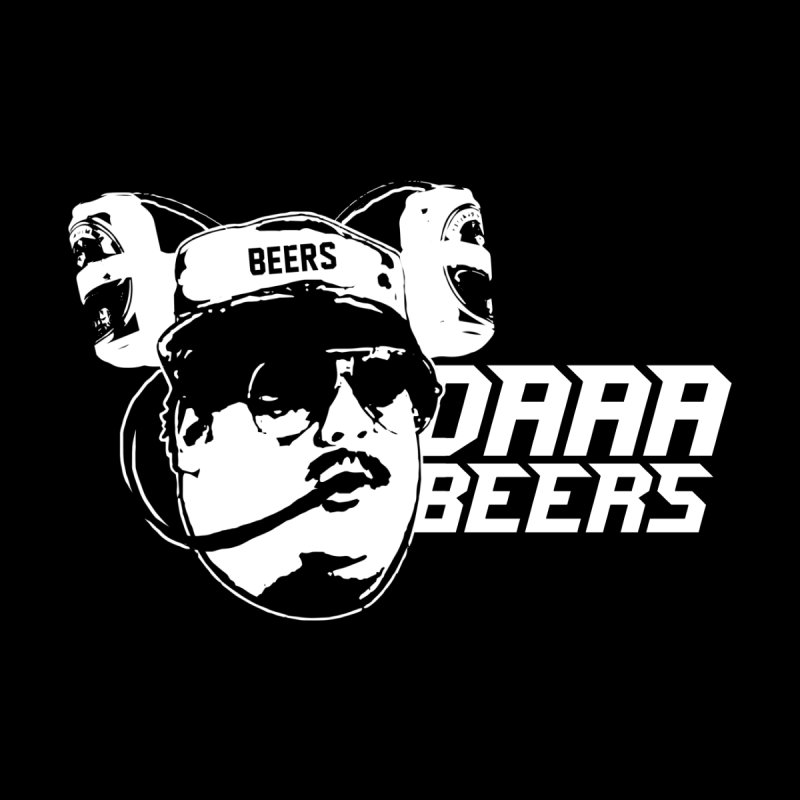daaabeers Men's V-Neck by jerbing's Artist Shop