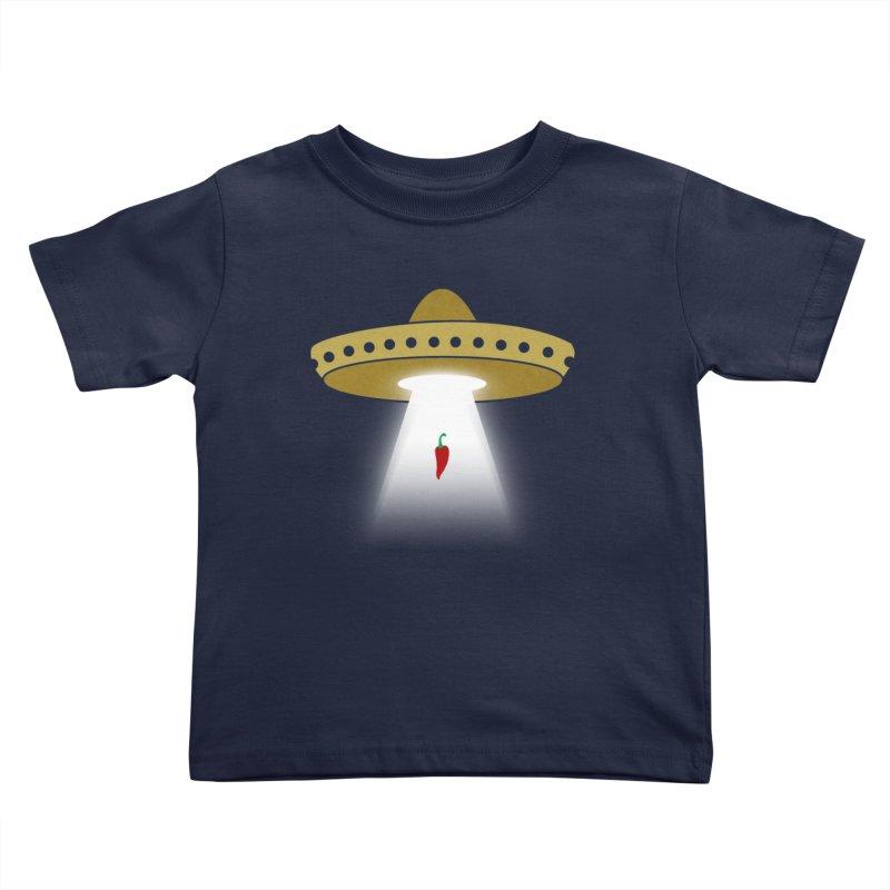 UFsombrerO Kids Toddler T-Shirt by jerbing's Artist Shop