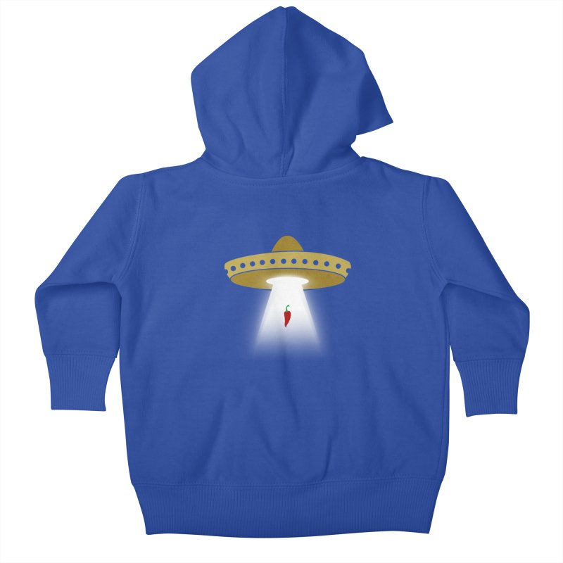 UFsombrerO Kids Baby Zip-Up Hoody by jerbing's Artist Shop