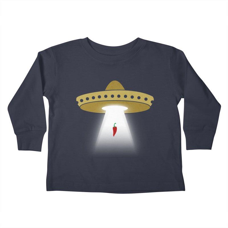 UFsombrerO Kids Toddler Longsleeve T-Shirt by jerbing's Artist Shop