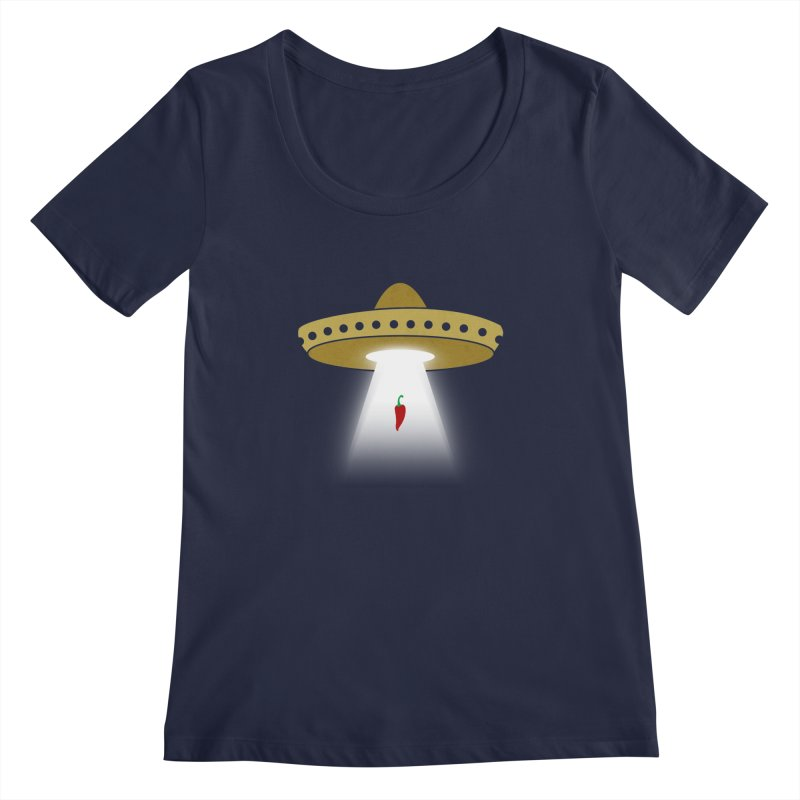 UFsombrerO Women's Scoopneck by jerbing's Artist Shop