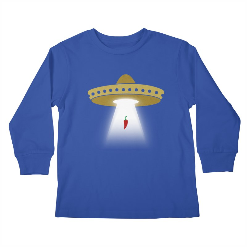 UFsombrerO Kids Longsleeve T-Shirt by jerbing's Artist Shop