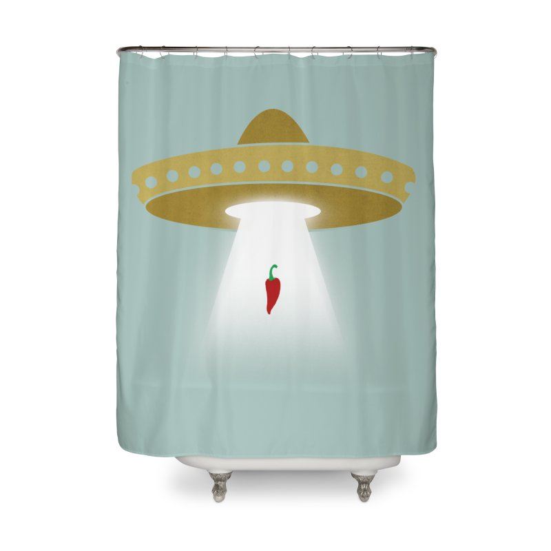 UFsombrerO Home Shower Curtain by jerbing's Artist Shop
