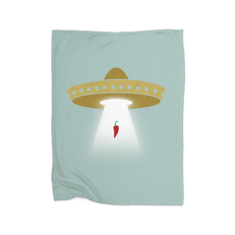 UFsombrerO Home Blanket by jerbing's Artist Shop