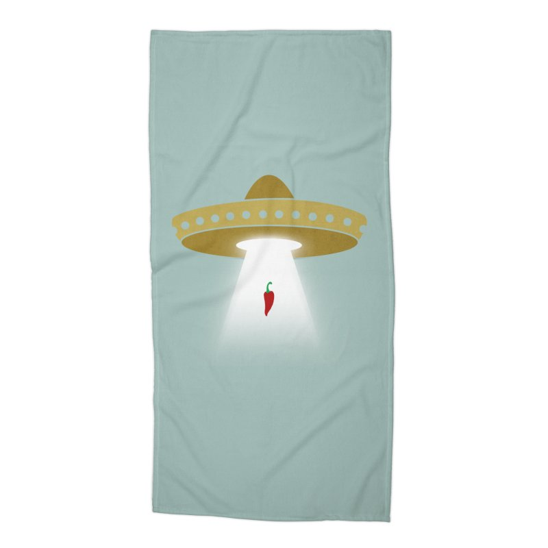 UFsombrerO Accessories Beach Towel by jerbing's Artist Shop