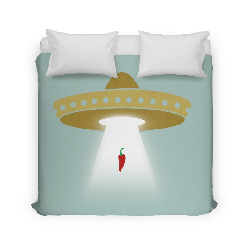 UFsombrerO Home Duvet by jerbing's Artist Shop