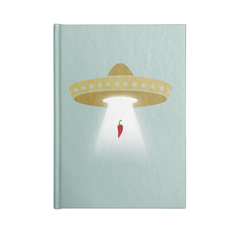 UFsombrerO Accessories Notebook by jerbing's Artist Shop