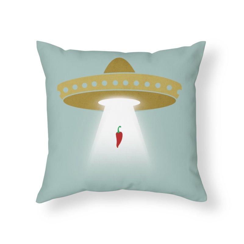 UFsombrerO Home Throw Pillow by jerbing's Artist Shop