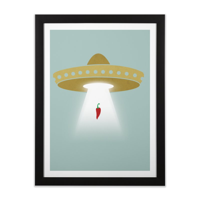 UFsombrerO Home Framed Fine Art Print by jerbing's Artist Shop