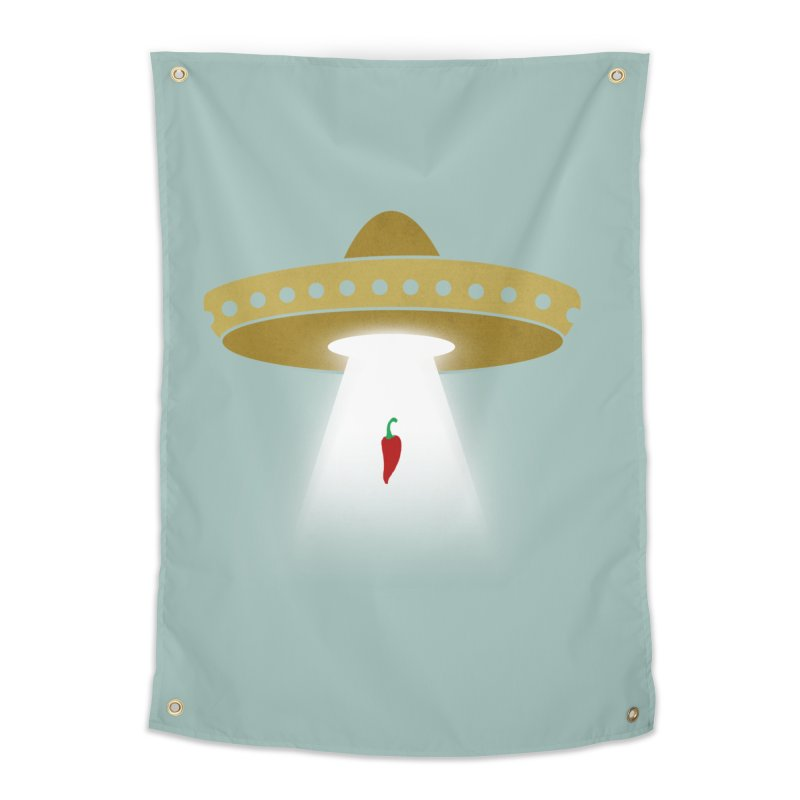 UFsombrerO Home Tapestry by jerbing's Artist Shop