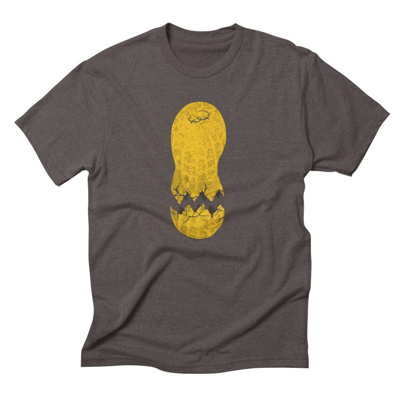 Cracked Peanut Men's Triblend T-shirt by jerbing's Artist Shop