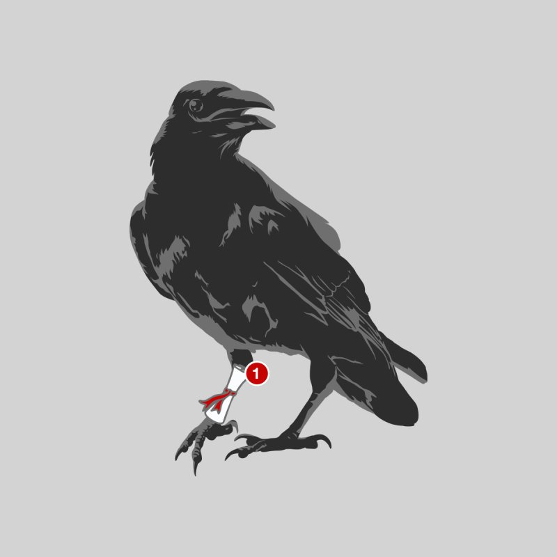 You've Got Raven Men's Triblend T-shirt by jerbing's Artist Shop
