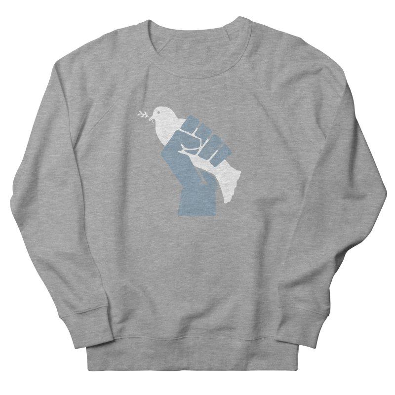 PEACE REVOLUTION Men's Sweatshirt by jerbing's Artist Shop
