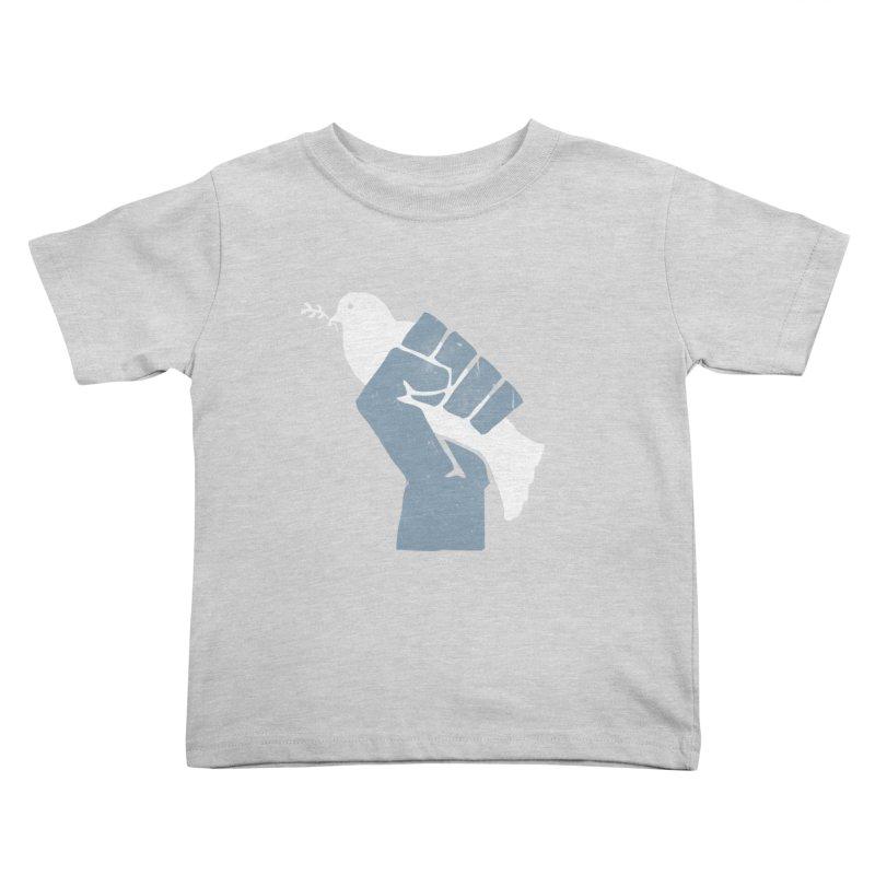 PEACE REVOLUTION Kids Toddler T-Shirt by jerbing's Artist Shop