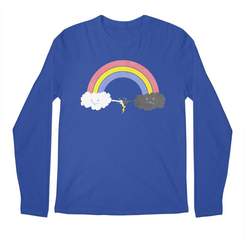 rain bros Men's Longsleeve T-Shirt by jerbing's Artist Shop