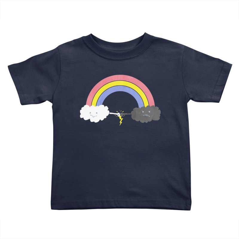 rain bros Kids Toddler T-Shirt by jerbing's Artist Shop