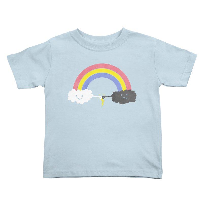rain bros Kids Toddler T-Shirt by jerbing's Artist Shop