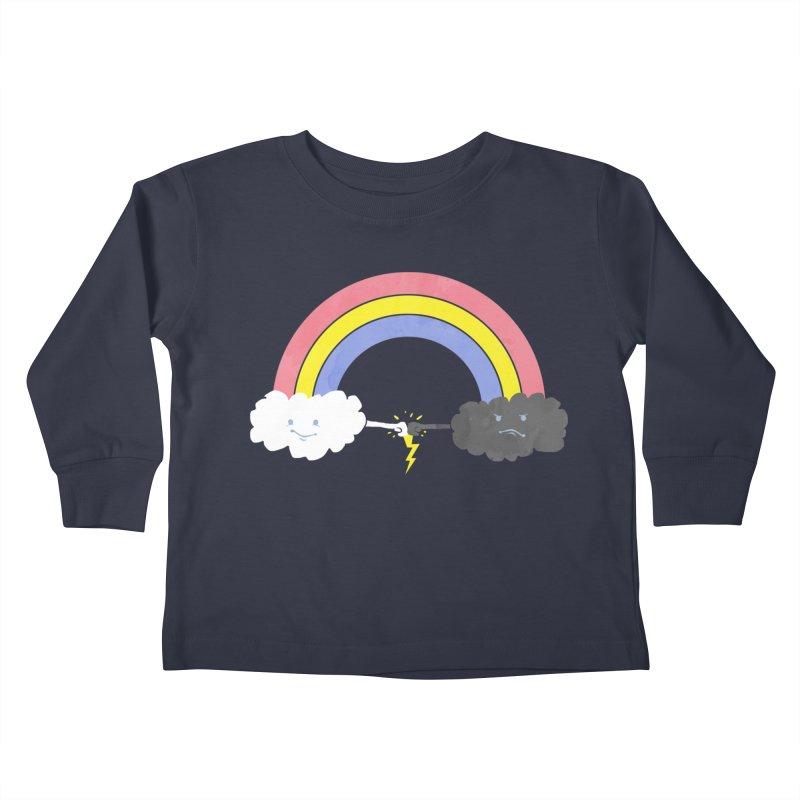 rain bros Kids Toddler Longsleeve T-Shirt by jerbing's Artist Shop