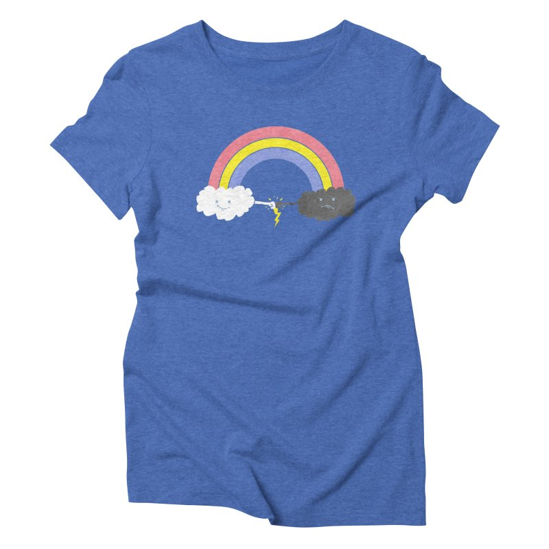 rain bros Women's Triblend T-shirt by jerbing's Artist Shop