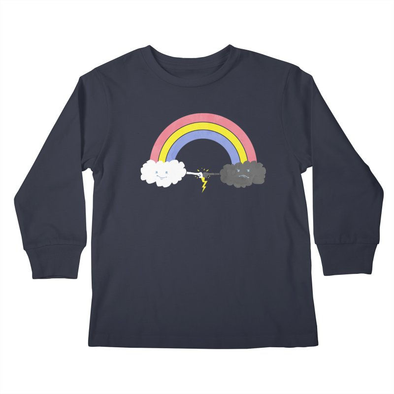 rain bros Kids Longsleeve T-Shirt by jerbing's Artist Shop