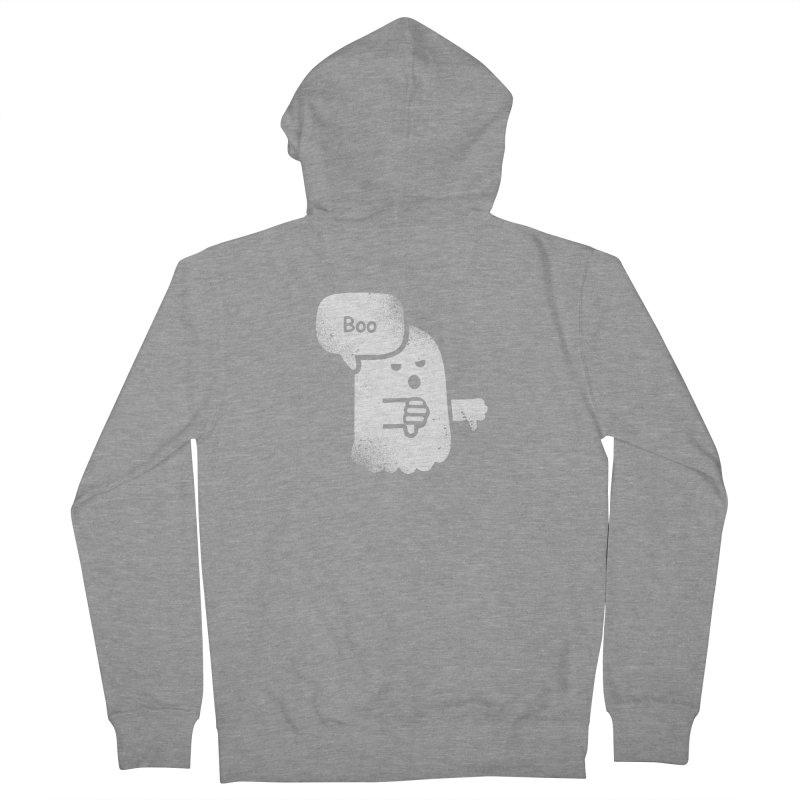 Heckler Ghost Men's Zip-Up Hoody by jerbing's Artist Shop