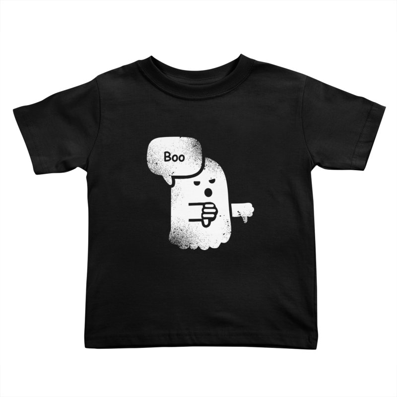 Heckler Ghost Kids Toddler T-Shirt by jerbing's Artist Shop