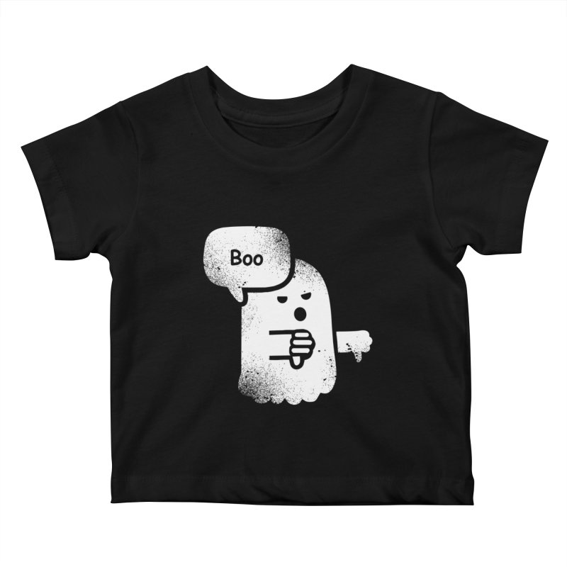 Heckler Ghost Kids Baby T-Shirt by jerbing's Artist Shop