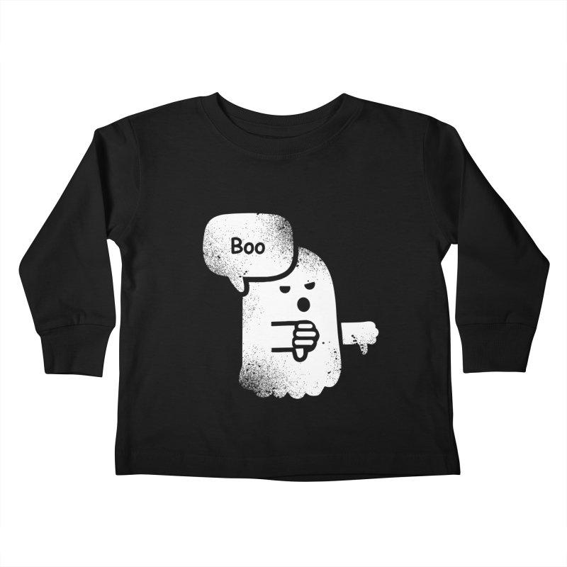 Heckler Ghost Kids Toddler Longsleeve T-Shirt by jerbing's Artist Shop