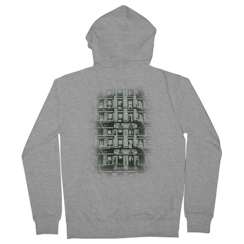 Paranormal Graffiti Men's Zip-Up Hoody by jerbing's Artist Shop