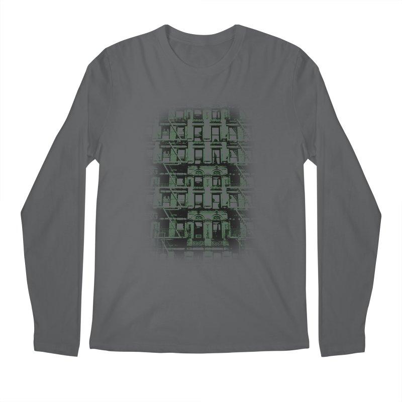 Paranormal Graffiti Men's Longsleeve T-Shirt by jerbing's Artist Shop